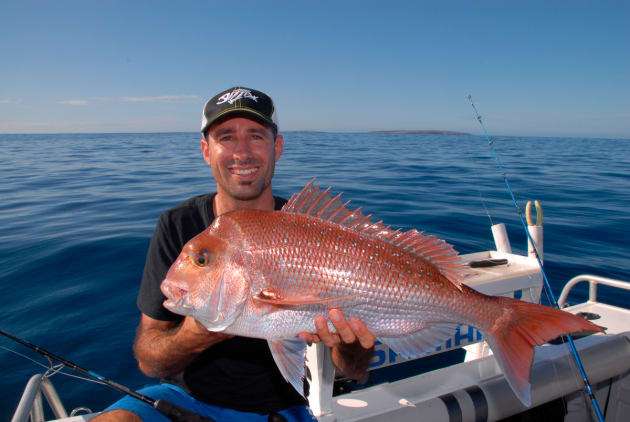 Jamie went offshore to target tuna but turned his attention to snapper when the SBT proved elusive!